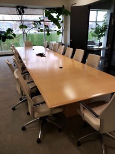 Pleasant Chairs For Boardroom Table Kijiji In Ontario Buy Sell Interior Design Ideas Philsoteloinfo