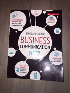 Business Communication Now Third Canadian Edition Textbook