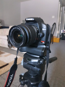 Canon t1i with baterry grip