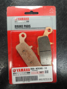 YAMAHA ATV REAR BRAKE PADS - Part #3B4W00461000
