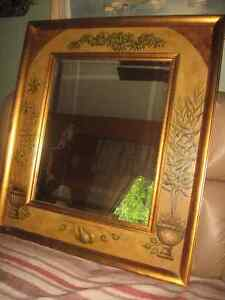 asortment of difrent mirrors