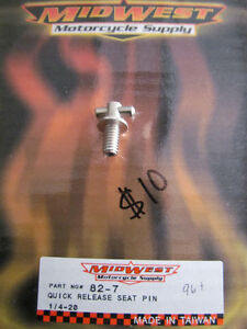 QUICK RELEASE SEAT PIN BOLT for HARLEY - DAVIDSON *** NEW ***