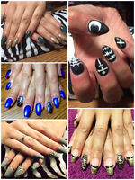 We offer Gel nails