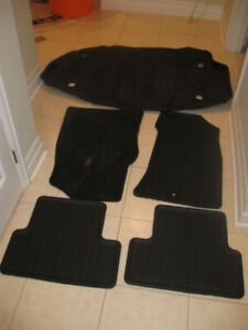 ORIGINAL TRUNK MATS FOR ACURA TL,  RDX,  TOYOTA, AND NISSAN SUV'