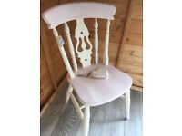 Wooden Chair up cycled by Vintage Angell