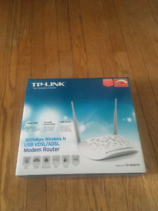 TP-LINK 300Mbps Wireless Modem Router