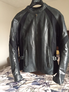 Joe Rockets Women's Leather Motorcycle Jacket
