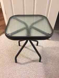Small Metal Side Table