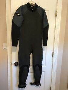 Men's Bare wetsuit with hooded vest