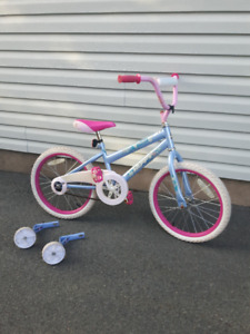 Free bike to little girl in need