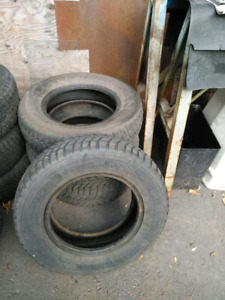 4 winter tires for sale in good condition