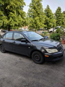 2003 Mitsubishi Lancer For Sale AS-IS
