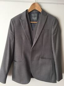 Next 2-piece grey suit and waistcoat: Age 13y