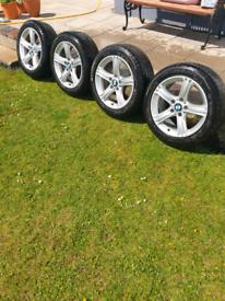 """17"""" BMW alloy wheels"""