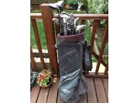 Full set of used golf clubs - various makes!