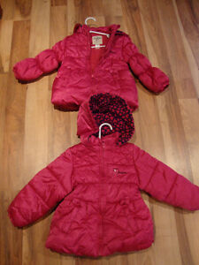 Osh Kosh Girls winter jacket size 3T