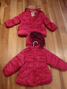 Osh Kosh Girls winter jacket size 3T