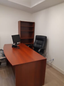 DESK AND BOOK SHELF (OFFICE)