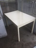 Painted white table great shape sturdy