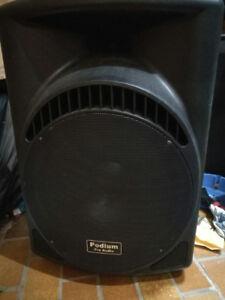 "Podium Pro PP1504CD Powered 900W Active 15"" PA Speaker"