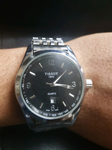 Tissot used men's wrist watch in good condition for sale