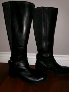 Clarks women's leather boots