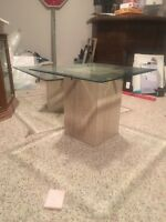 Marble Glass Coffee Tables