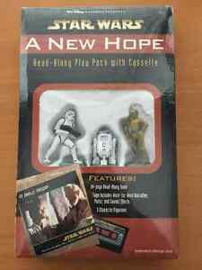 """STAR WARS """"A NEW HOPE"""" READ-ALONG PLAY PACK WITH CASSETTE"""