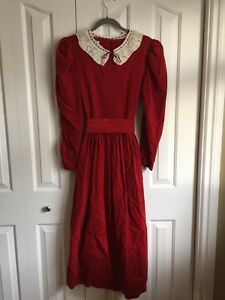 Laura Ashley Mrs. Claus dress