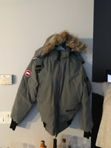 Rarely worn, recently drycleaned, authentic Canada Goose bomber