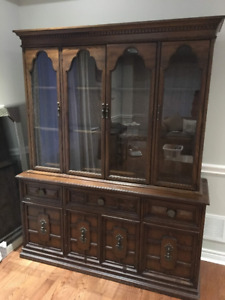 GIbbard Dinning Room Hutch and Buffet