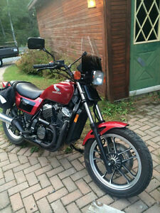 1984 Honda Ascot VT 500 RARE in great condition CERTIFIED