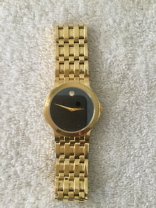 Movado Gold Tone Museum Men's Dress Watch