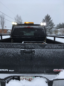Heavy Duty Pickup Racks off 2008 GMC Duramax Crew Cab