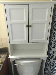 $20.00 above toilet cabinet