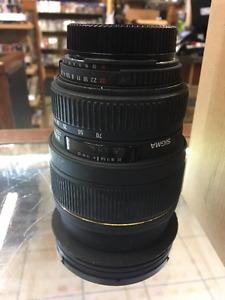 ***Lentille Sigma 24-70 ex dg fit sur Nikon (u031286)***