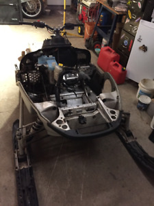 Skidoo ZX chassis parts for sale