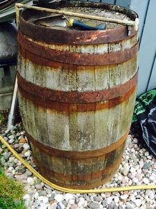 Baril de whiskey/ Seagrams whiskey barrel