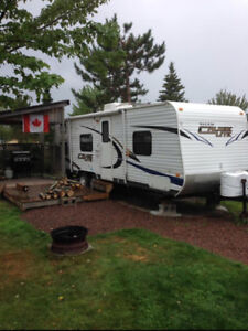 TRAVEL TRAILER FOR RENT AT AN LOVELY CAMPGROUND!