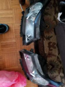 Chevy Cruze headlights and fixtures