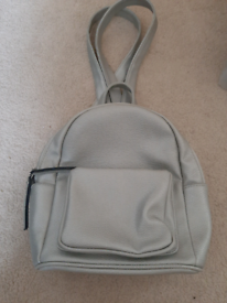 New look Silver back pack