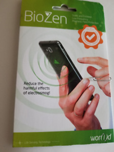 BIOZEN PROTECTS YOU AGAINST MOBILE RADIATION