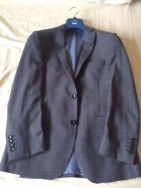 Moss 1851 Tailored Fit Grey Tonic Suit, Trousers & Waistcoat (Used, Great Condition)