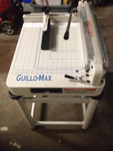 Guillo-Max G17 Pro Stack Paper Cutter. MAKE ME AN OFFER!!