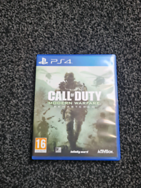 Call of Duty, Modern Warfare Remastered - Ps4