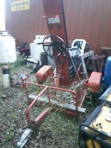 Trailer Mounted Post Hole Auger