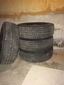 215/60R16 Winter Tires without Rims - Great Condition