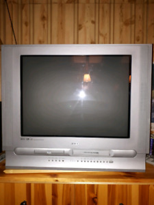 FREE older model console TV (with internal VCR & DVD)