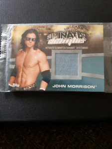 WWE Elimination Chamber 2010 Canvas Card   *MINT CONDITION*