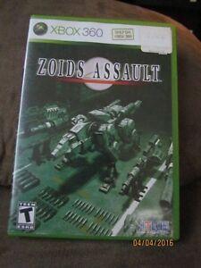 Xbox 360 Game: Zoids Assault